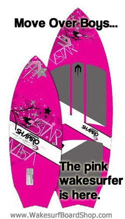 A Pink Wakesurf Board for Women?