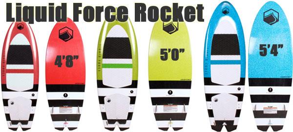 Liquid Force Rocket Wakesurfer in 3 Sizes