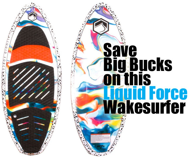 Liquid Force Swami Wakesurf Board - Great Wakesurfer for People on a Budget