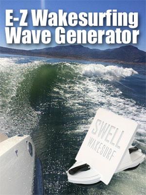 Swell Wakesurfing Wave Generator